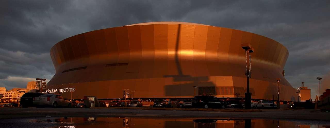 Por otro lado, después de la renovación tras el Katrina, el Superdome se convirtió en una de las armas secretas del éxito de los Saints.