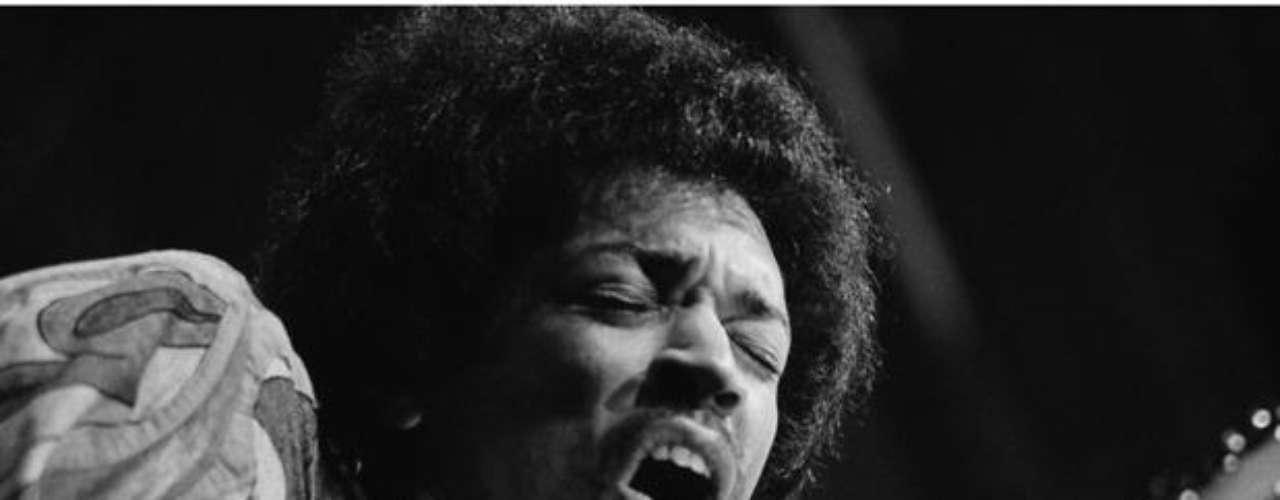 El mítico guitarrista Jimmy Hendrix nunca consiguió el codiciado gramófono en vida.