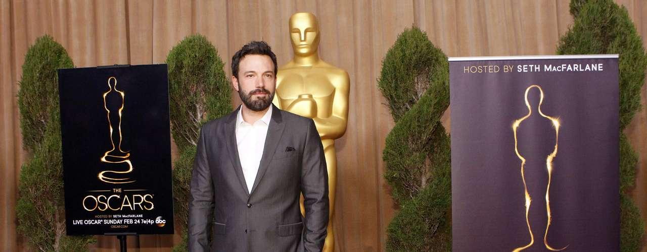 Ben Affleck llegó en el papel de Director cuya película \