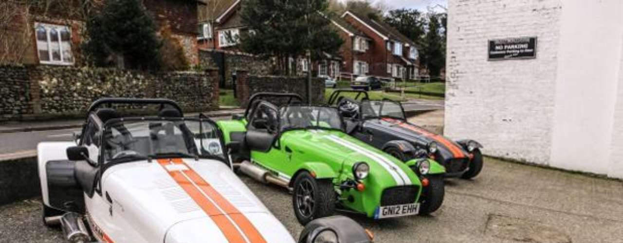 Fotos Caterham Showroom 2013