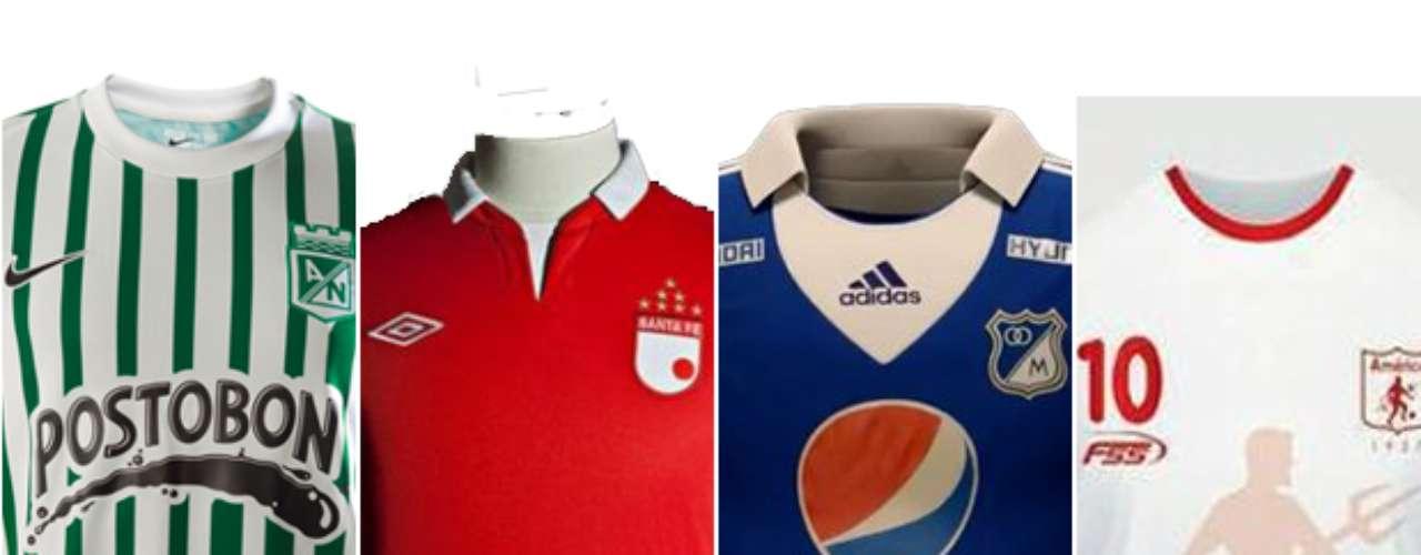 Así se vestirán este año los equipos con más historia de Colombia para afrontar la Liga y el Torneo Postobón