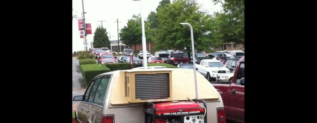 ¿Quién dice que un auto convencional no puede tener aire acondicionado?