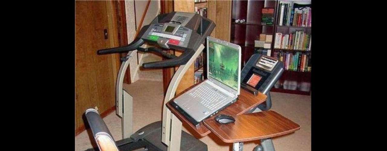 Para el trabajador amante del ejercicio, ¿por qué no combinar ambas cosas?
