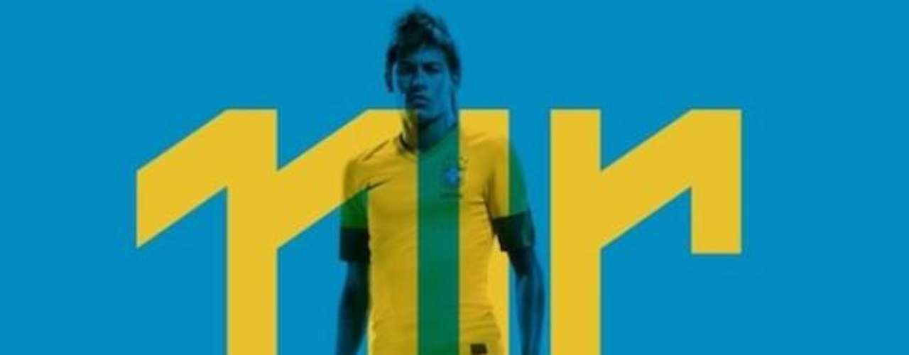 Although Neymar has yet to ply his trade in Europe, he is already a worldwide star. He even has his own logo which was unveiled in November.