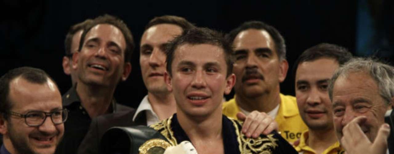 El kazajo Gennady Golovkin es uno de los mejores exponentes de pesos Medios en la actualidad. El púgil europeo está invicto con un récord de 25-0 (22 KOs), lo que lo hace campeón de la AMB.