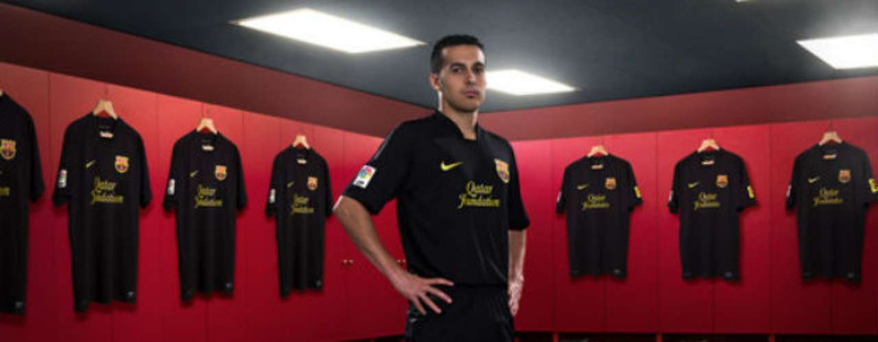 Barcelona also used black in its alternative jersey during the past season.