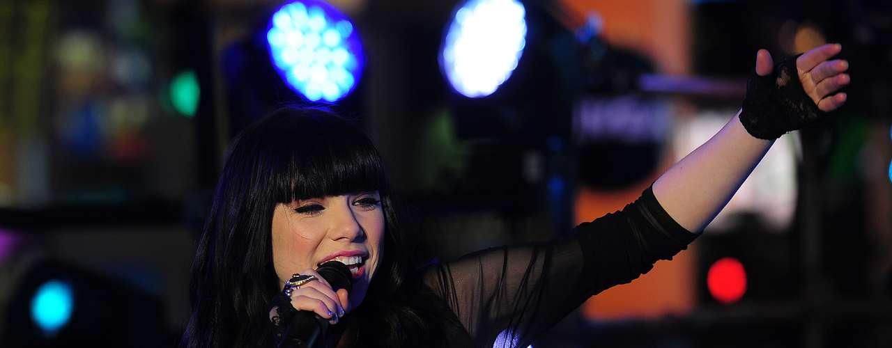 El fenómeno musical canadiense Carly Rae Jepnsen podría ganarse este domingo un Grammy con su hit \