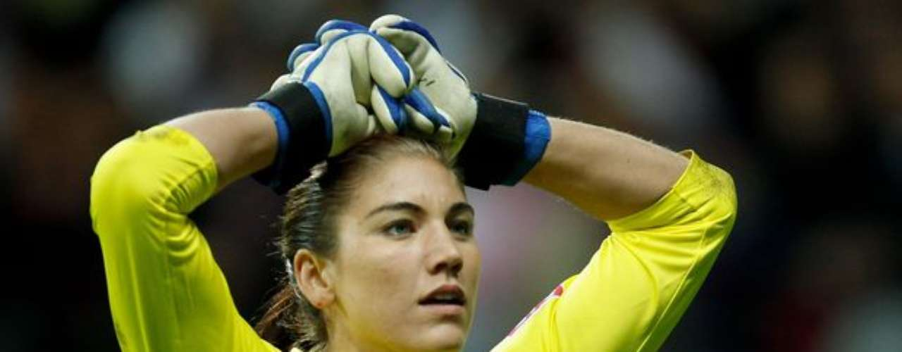 Hope Solo podría ser la mayor \