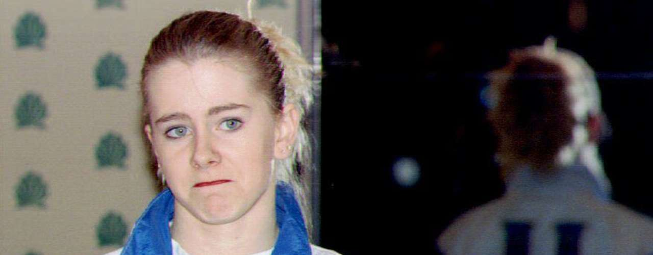 Honorary mention: Though the plan was to stick with current players, no bad girl gallery can go without the greatest bad girls in women's sports history: Tonya Harding, who needs no introduction.