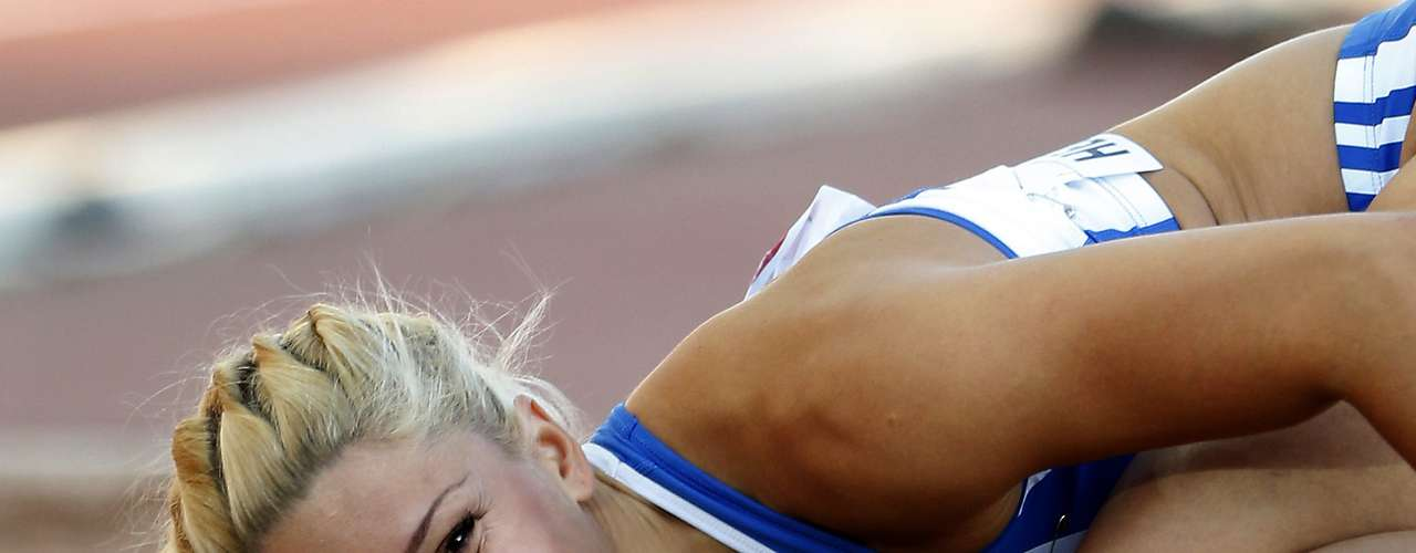 Voula Papachristou makes the list after being kicked out of the London 2012 Olympics for making racist comments on her Twitter account in suport of a far-right party in Greece.