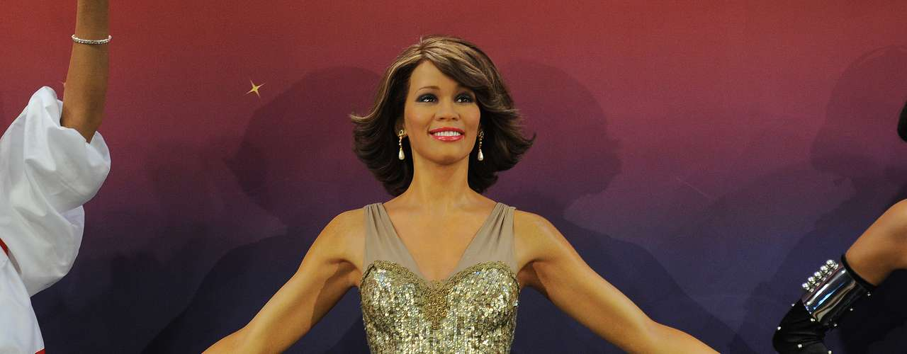 Madame Tussauds wax museum unveiled four wax figures of Whitney Houston symbolizing major eras of her long career yesterday (Feb. 7) in New York City. This is the first time four figures of the same individual have been simultaneously released.