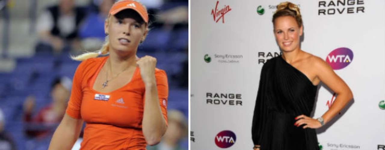 Danish tennis player Caroline Wozniacki still has a chance for glory, but she has not won a grand slam yet, although she has been number 1 in the WTA ranking. She may be taken off this list soon.
