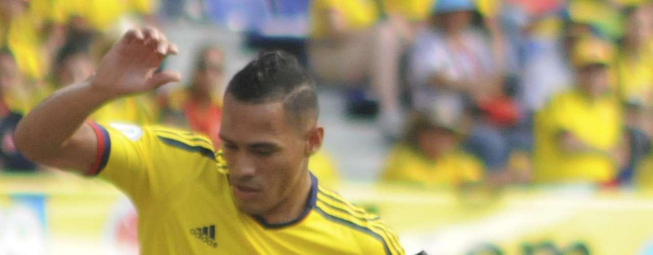 Aldo Leao Ramírez ingresó al 63en el amistoso de Colombia contra Guatemala.