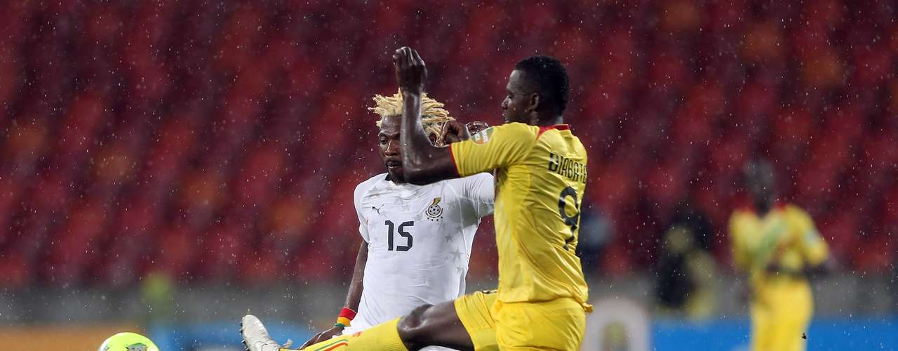 Mali pulled away in the second half as Ghana failed to reach the final.