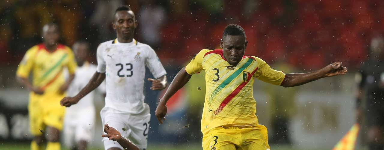 Ghana could not break through with its better known roster against a consistent Mali team.