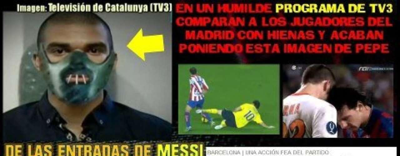 Lionel Messi no se salvó y los aficionados del Madrid le sacaron sus \