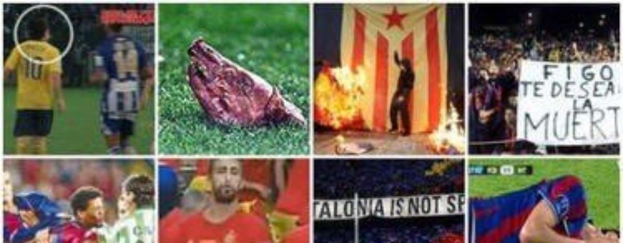 El Barcelona en cuestión de juego limpio, en diferentes temporadas no tiene mucho cómo defenderse
