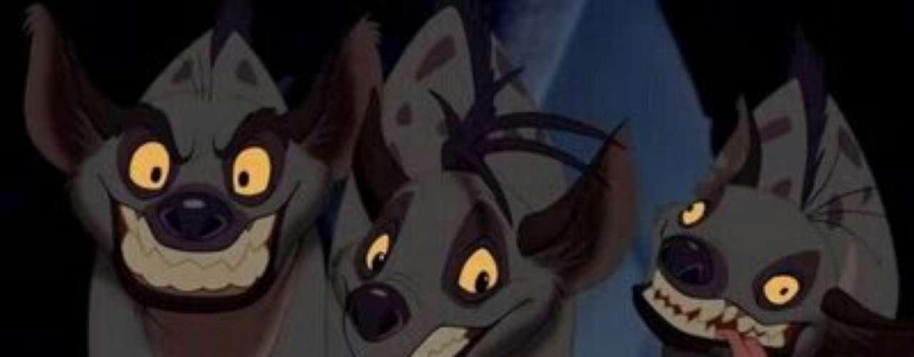 Las hienas de la película el \