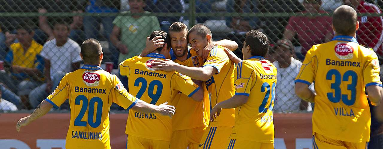 Tigres is the leader, with 16 points, after six rounds.