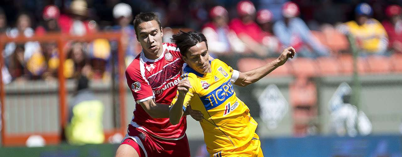 The scarlets, lost; since stepping onto the field, Tigres dominated them.
