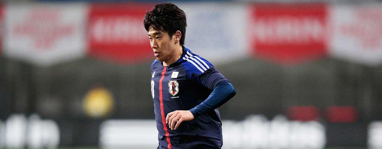 Shinji Kagawa: estemedio talentosoes la gran referencia de la selección más fuerte de Asia,Japón. Tiene una gran facilidad para ver portería rivaly en el United está demostrando su valía.