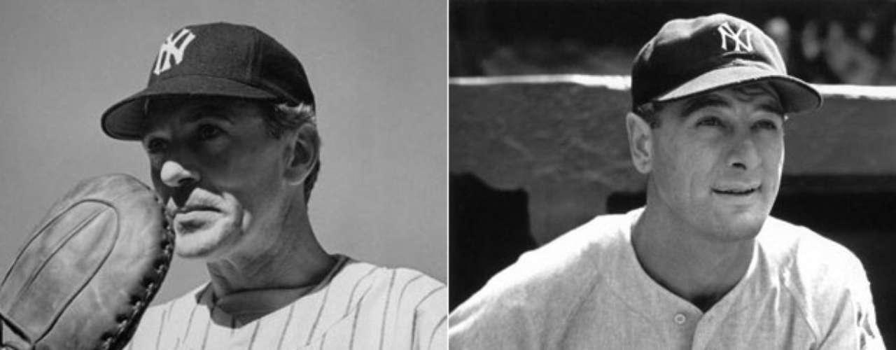 Otro actor nominado al Óscar por su papel de atleta fue Gary Cooper, quien interpretó al legendario jugador de los Yankees de Nueva York que falleció por una esclerosis lateral amiotrófica, Lou Gehrig, en The pride of the Yankees (1942).