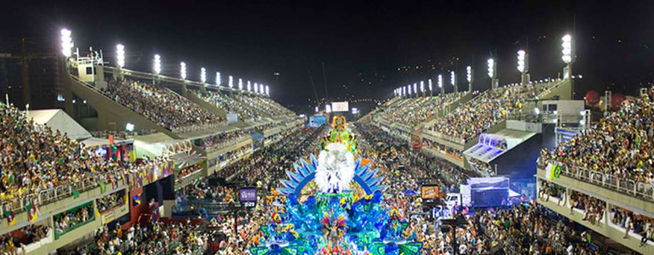 Tens of thousands of revelers enjoyed the peak of Rio de Janeiro's Carnaval inside of and out of the famous Sambodromo where Samba schools paraded their floats and costumes.