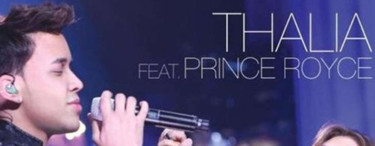 Prince Royce and Thalía will be singing their own duet \