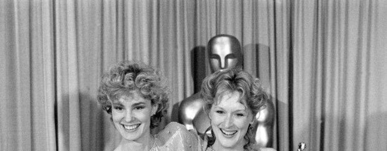 Meryl Streep se fue a casa con su segundo Oscar y primero como Mejor actriz, en 1983, por su gran desempeño en 'Sophie's Choice'.