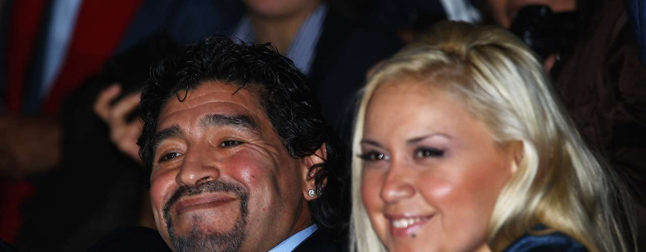 Auruccio said that Maradona, who separated from Ojeda after he found out she was pregnant, will send written his recognition as a father through the Argentine embassy in United Emirates.