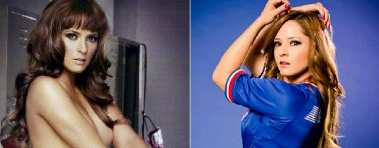 El Cruz Azul no se quedaría atrás con guapas seguidoras. Una de ellas es Elba Jimenez, quien ha trabajado como modelo y actriz para TV Azteca, además de ser conductora para la cadena de TDN.