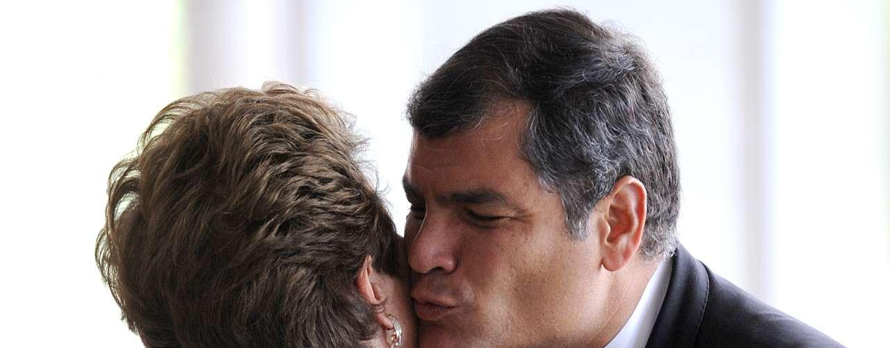 Brasil - El gobierno de Brasil apuesta a una reelección de Correa para avanzar en proyectos regionales donde el gigante sudamericano ejerce liderazgo, como la Unasur o la ampliación del Mercosur, según analistas.