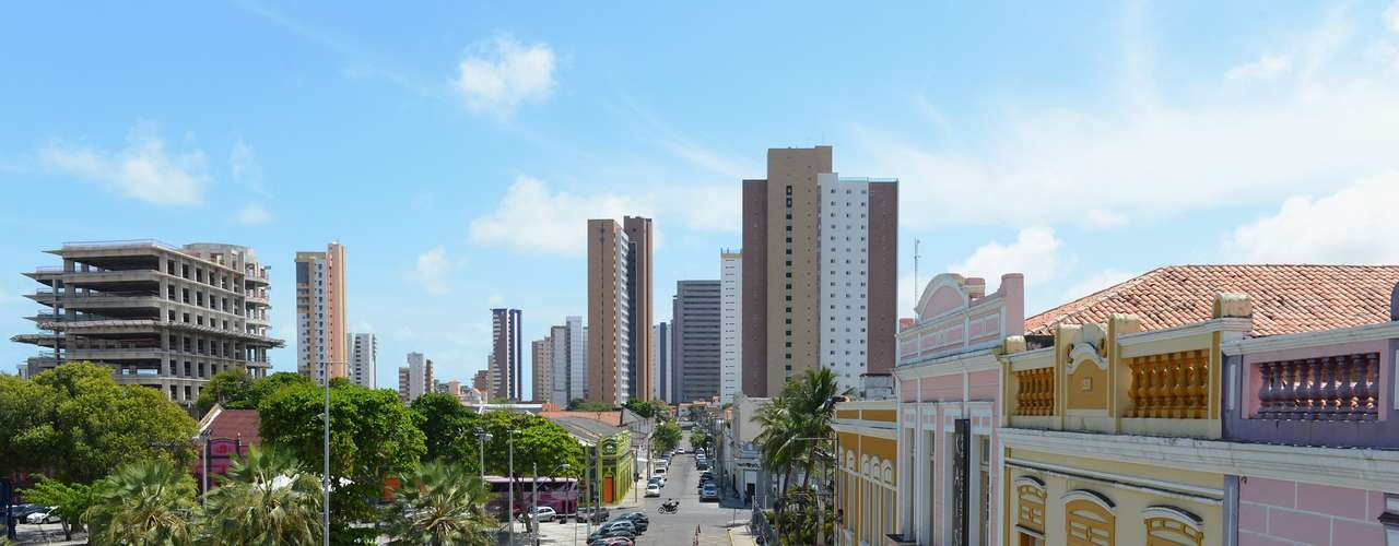 Fortaleza, Brazil, had 1,628 homicides per 2,452,185 inhabitants, which places it on the list.