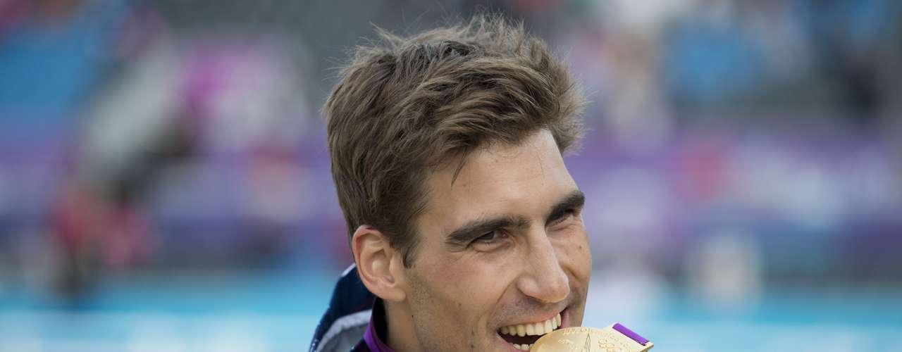 República Checa también tiene a un embajador en el apuesto especialista en pentatlón moderno David Svoboda, ganador de la medalla de oro en Londres 2012.