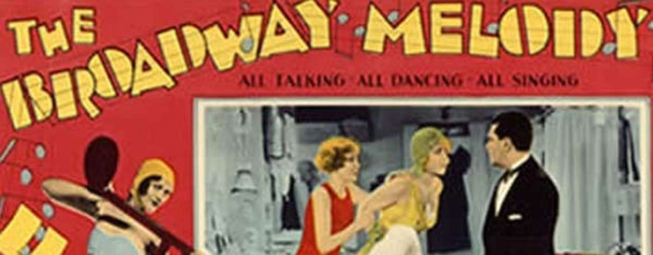 En 1929 el musical The Broadway Melody del director Harry Beaumont fue merecededor al premio de la Academia.