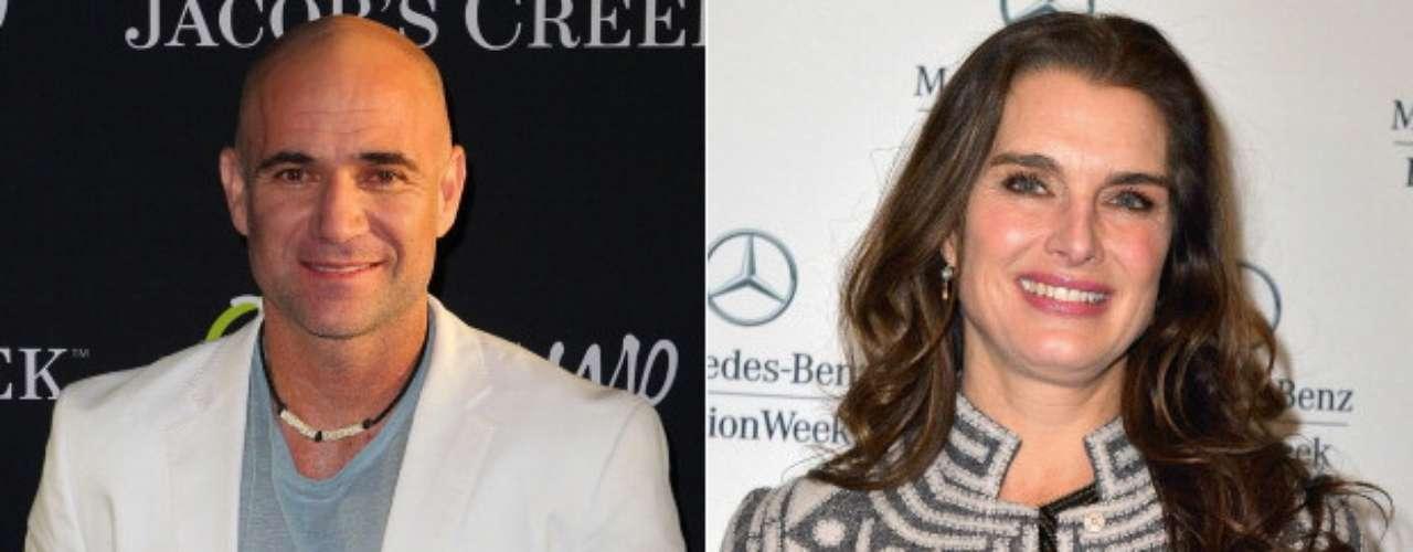 Andre Agassi y Brooke Shields: La leyenda viva del tenis estadounidense y la reconocida actriz estuvieron casados entre 1997 y 1999, después de haber sido novios por 4 años. El matrimonio no funcionó porque no pasaban mucho tiempo juntos, debido a las profesiones de ambos.