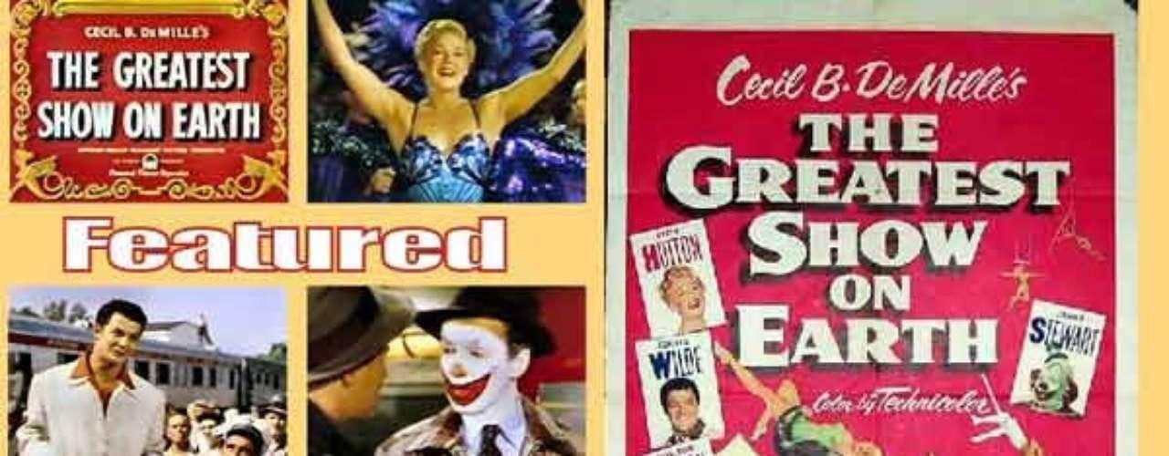 En 1952 el dramaThe Greatest Show on Earth, del director Cecil B. De Mille, fue honrado con el reconocimiento.
