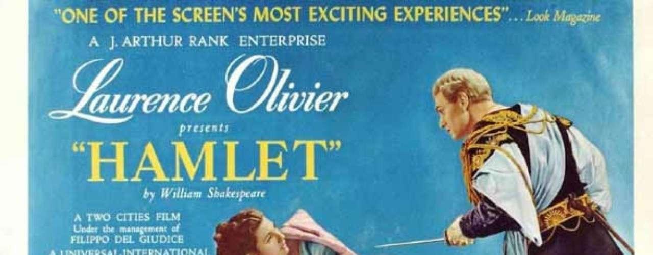 En 1948 la película de drama y romance Hamlet, del directorLaurence Olivier, fue premiada con la estatuilla de oro.