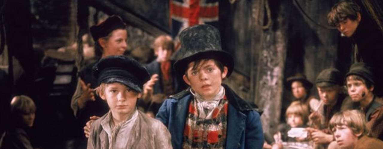 'Oliver': Este filme musical adaptado de la obra de Broadway, a su vez basado en el clásico de Charles Dickens sobre el pobre huérfano 'Oliver Twist', le robo el corazón a millones en 1968. La película obtuvo 11 nominaciones y 6 premios, incluyendo el de mejor película, mejor director, mejor música y un premio honorario a Onna White por la coreografía.