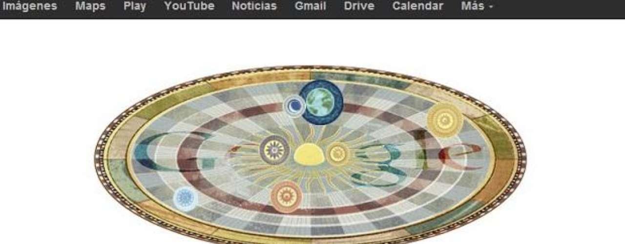 19 de febrero: Google rindió homenaje a Nicolás Copérnico quién fue el protagonista de un Doodle animado dedicado al 540 aniversario de su nacimiento.