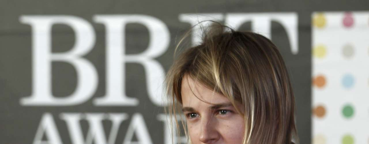 Tom Odell arrives for the BRIT Awards at the O2 Arena in London February 20, 2013.   REUTERS/Luke Macgregor (BRITAIN  - Tags: ENTERTAINMENT SOCIETY)
