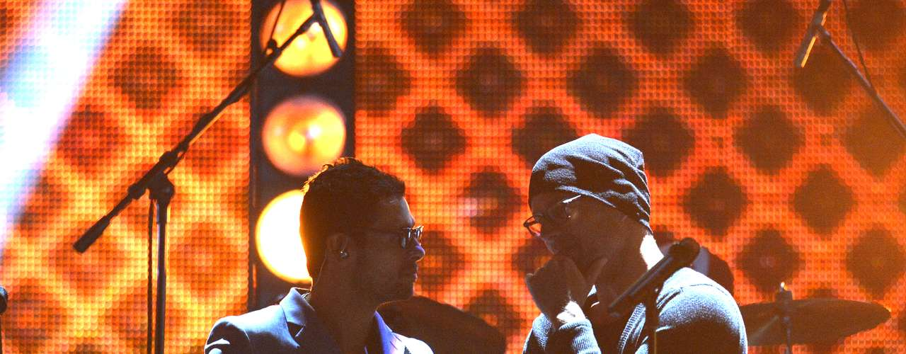 Draco Rosa and Ricky Martin prep their debut their duet, 'Más y Más' on PLN!