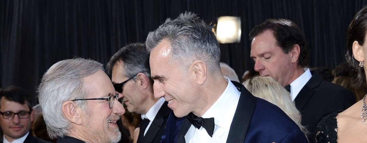 El directorSteven Spielberg aseguró que para él fue un placer dirigir al actor Daniel Day-Lewis, ganador como Mejor Actor por Lincoln.