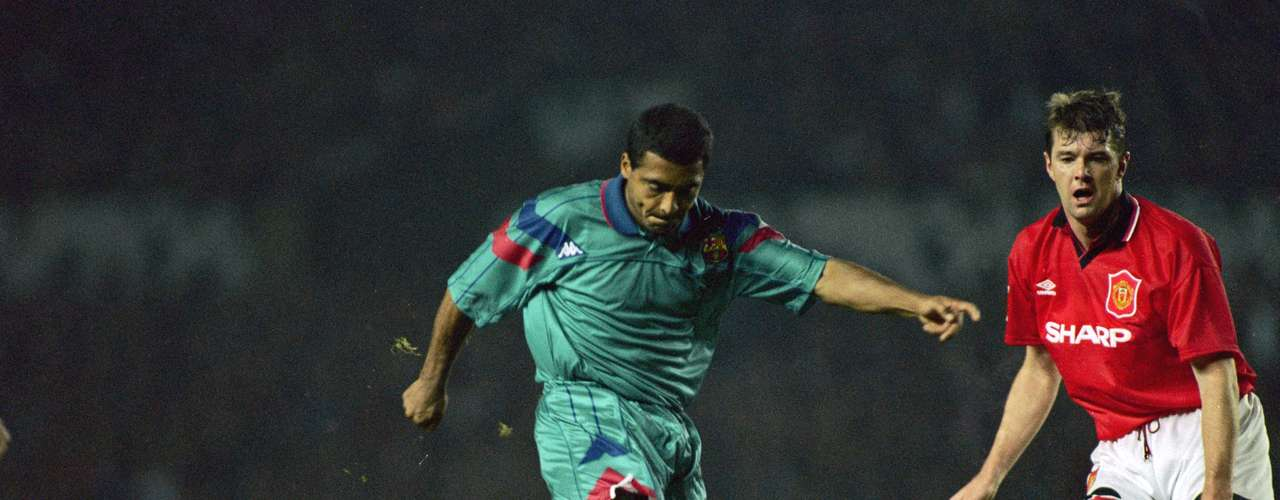 Romario was another great '10' at Barcelona. The Brazilian played at the club between 1993 and 1995, winning the league title in the 93-94 season and was Pichicih with 30 goals in 33 games that season.