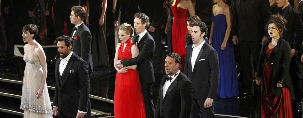 El elenco de la película \