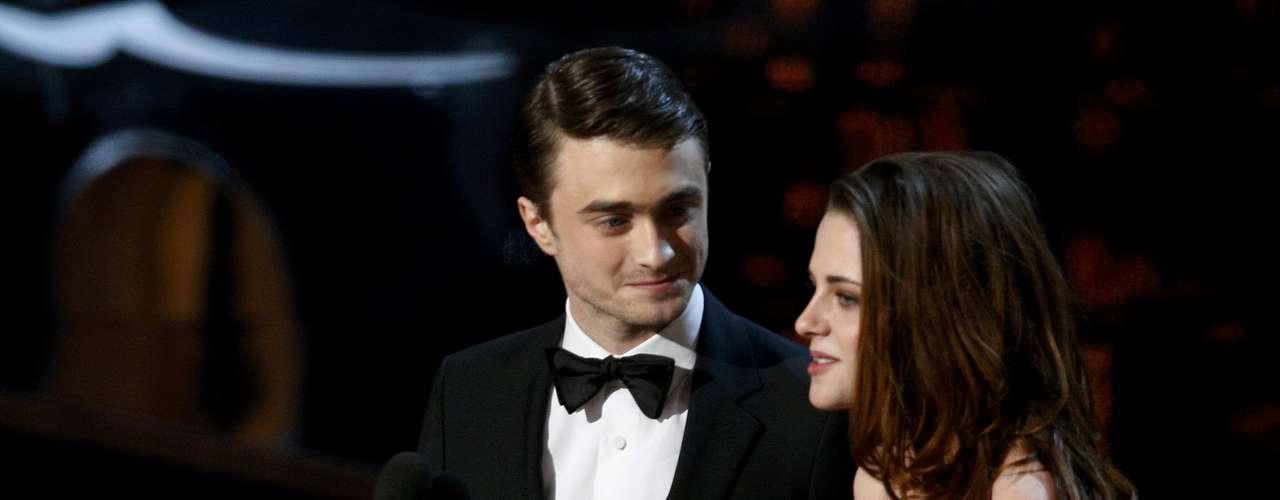 Daniel Radcliffe yKristin Stewart hiceron una pareja de lujo.