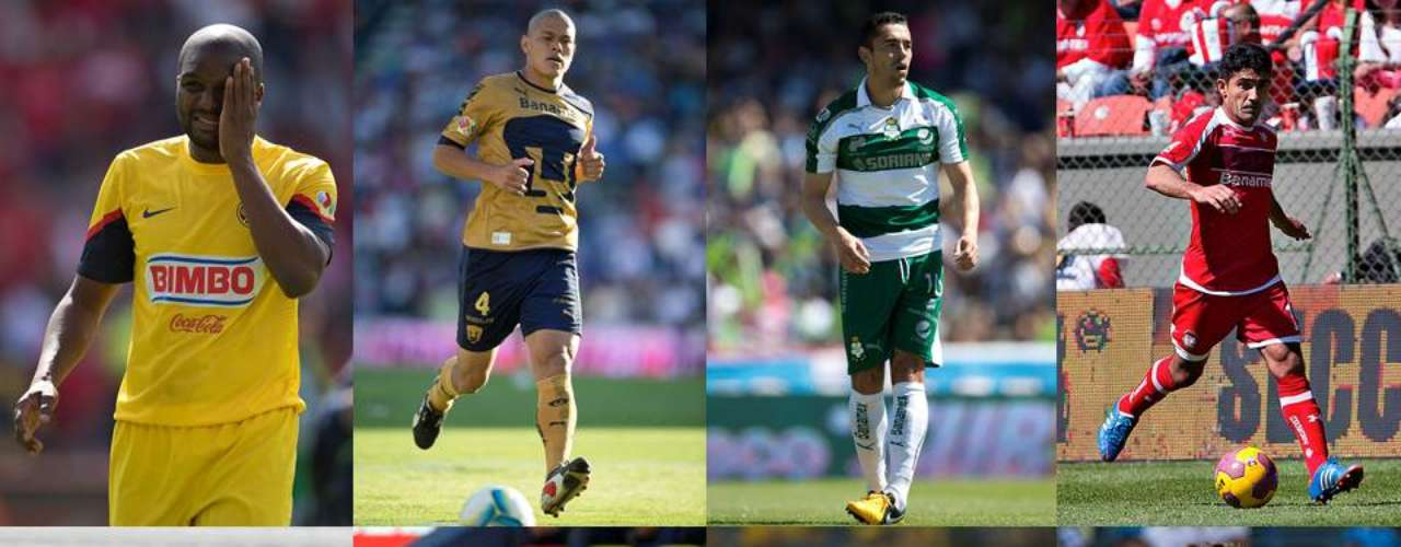 Here we show you the players that have decided to adopt Mexico as their second country, who no longer take a foreigner spot to improve their signing, that is those not born in Mexico that became naturalized.