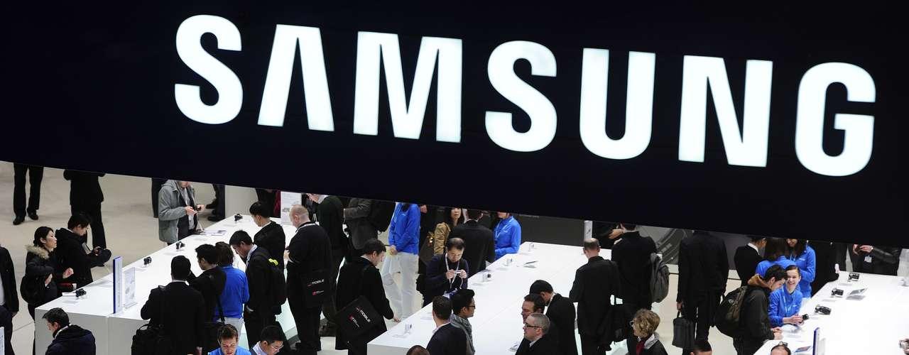 El stand de Samsung es uno de los más frecuentados por los visitantes. La empresa surcoreana ha sido una de las compañías más competitivas del mercado móvil desde el año pasado.