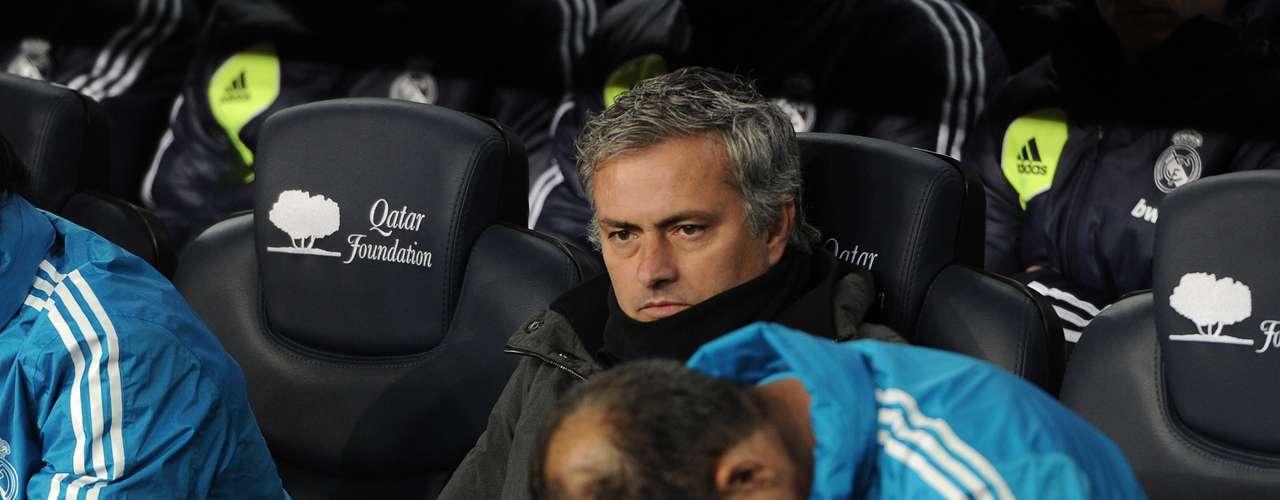 Y, como suele suceder, el técnico del Real Madrid, José Mourinho, mostró la angustia que le generaba este encuentro.