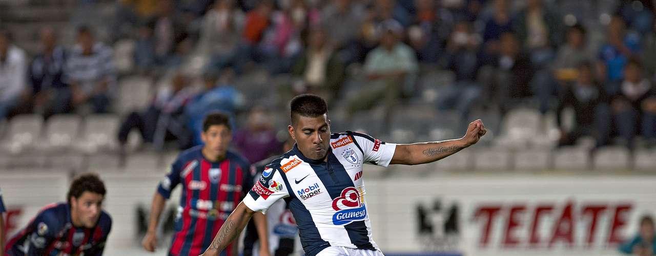 Daniel Ludueña anotó de penalti su segundo gol de la noche.